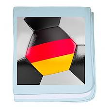 Germany Soccer Ball baby blanket