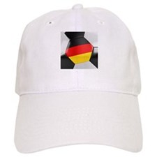 Germany Soccer Ball Baseball Cap