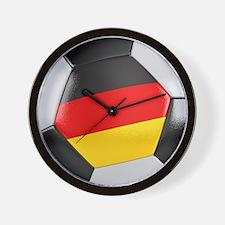 Germany Soccer Ball Wall Clock