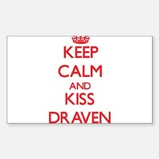 Keep Calm and Kiss Draven Decal