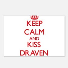 Keep Calm and Kiss Draven Postcards (Package of 8)