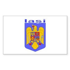 Iasi, Romania Rectangle Decal