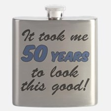 50 Years To Look This Good Flask