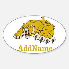 Tiger Roar Custom Sticker (Oval)