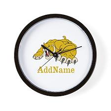 Tiger Roar Custom Wall Clock