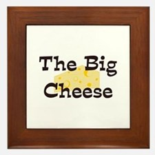 The Big Cheese Framed Tile