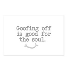 Goofing Off is Good for the Soul Postcards (Packag