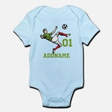 Customizable Soccer Infant Bodysuit