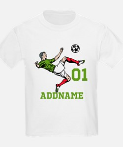 Customizable Soccer T-Shirt