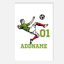 Customizable Soccer Postcards (Package of 8)