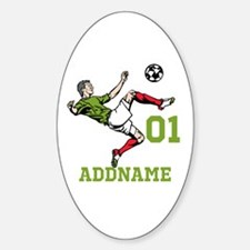 Customizable Soccer Decal