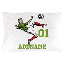 Customizable Soccer Pillow Case