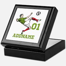 Customizable Soccer Keepsake Box