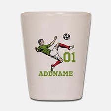 Customizable Soccer Shot Glass