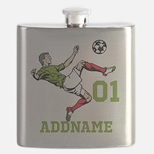 Customizable Soccer Flask