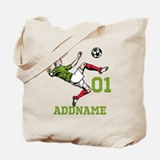 Customizable Soccer Tote Bag