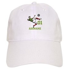 Customizable Soccer Baseball Cap
