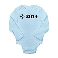 Copyright 2014 Long Sleeve Infant Bodysuit