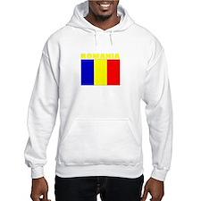 Romania Flag (Dark) Hoodie