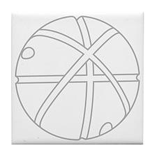 Cute Time machine Tile Coaster