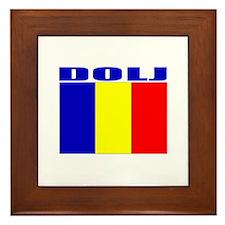 Dolj, Romania Framed Tile
