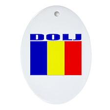 Dolj, Romania Oval Ornament