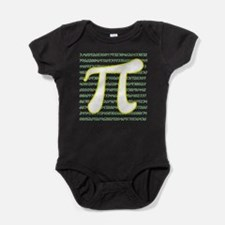 Pi Numbers Baby Bodysuit