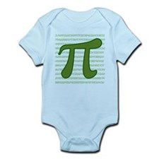 Pi Numbers Infant Bodysuit
