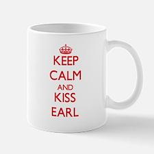 Keep Calm and Kiss Earl Mugs