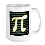 2015 pi day Large Mugs (15 oz)