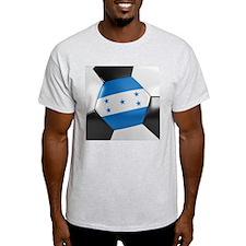 Honduras Soccer Ball T-Shirt