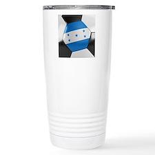 Honduras Soccer Ball Travel Mug