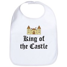 King of the Castle Bib