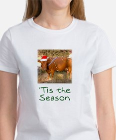 Cow Christmas Women's T-Shirt