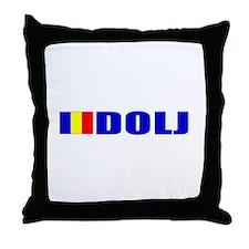 Dolj, Romania Throw Pillow