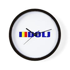 Dolj, Romania Wall Clock