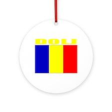Dolj, Romania Ornament (Round)