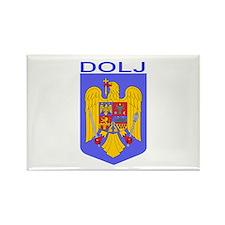 Dolj, Romania Rectangle Magnet