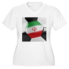 Iran Soccer Ball T-Shirt