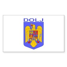 Dolj, Romania Rectangle Decal