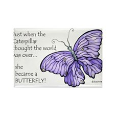 shebecameabutterfly Magnets