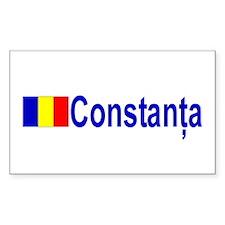 Constanta, Romania Rectangle Decal