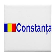 Constanta, Romania Tile Coaster