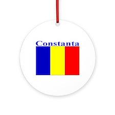 Constanta, Romania Ornament (Round)