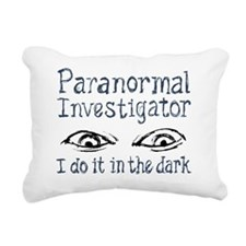 I Do It in the Dark - Pa Rectangular Canvas Pillow