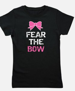 Fear the bow Girl's Tee