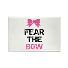 Fear the bow Rectangle Magnet