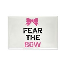 Fear the bow Rectangle Magnet (100 pack)