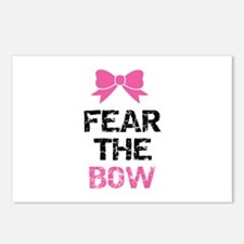 Fear the bow Postcards (Package of 8)