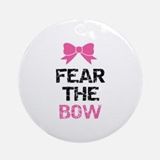 Fear the bow Ornament (Round)